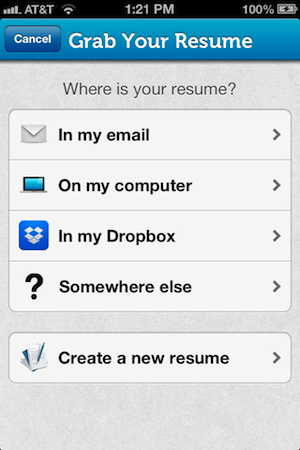 how to upload my resume to my iphone 28 images